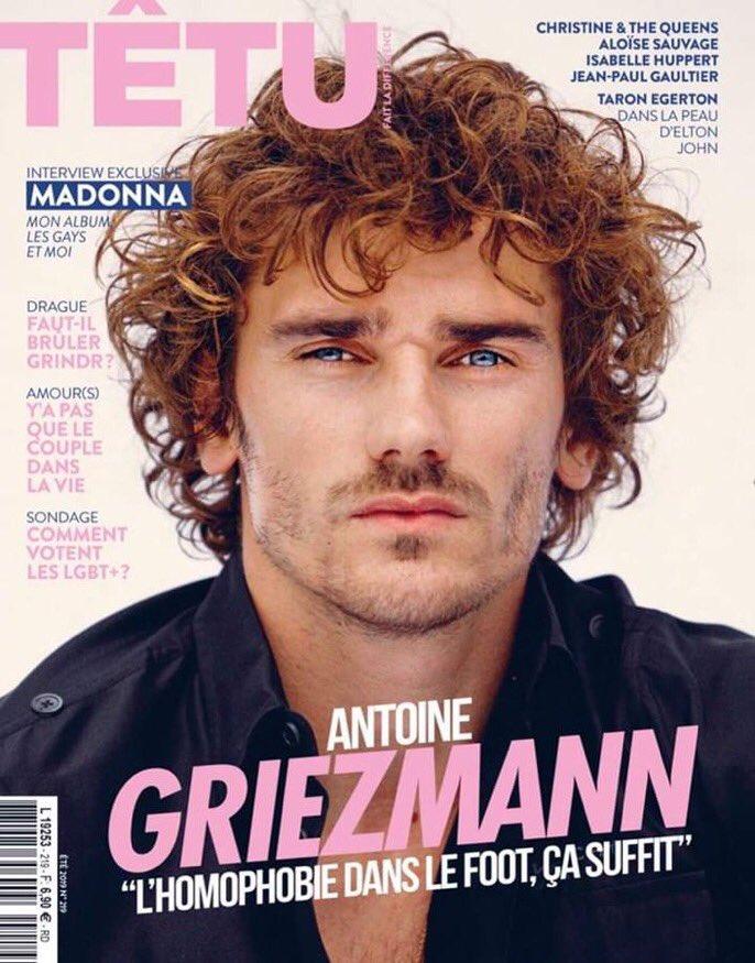 RT @ActuFoot_: Antoine Griezmann en une du magazine @TETUmag ce mercredi.