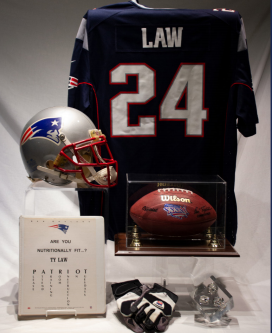 test Twitter Media - Items from @ProFootballHOF Class of 2019 enshrinee Ty Law arrive in Canton including game-worn helmet and jersey from Aliquippa #WTAE @EverythingQuip #WPIAL https://t.co/Z3xRHjytFa