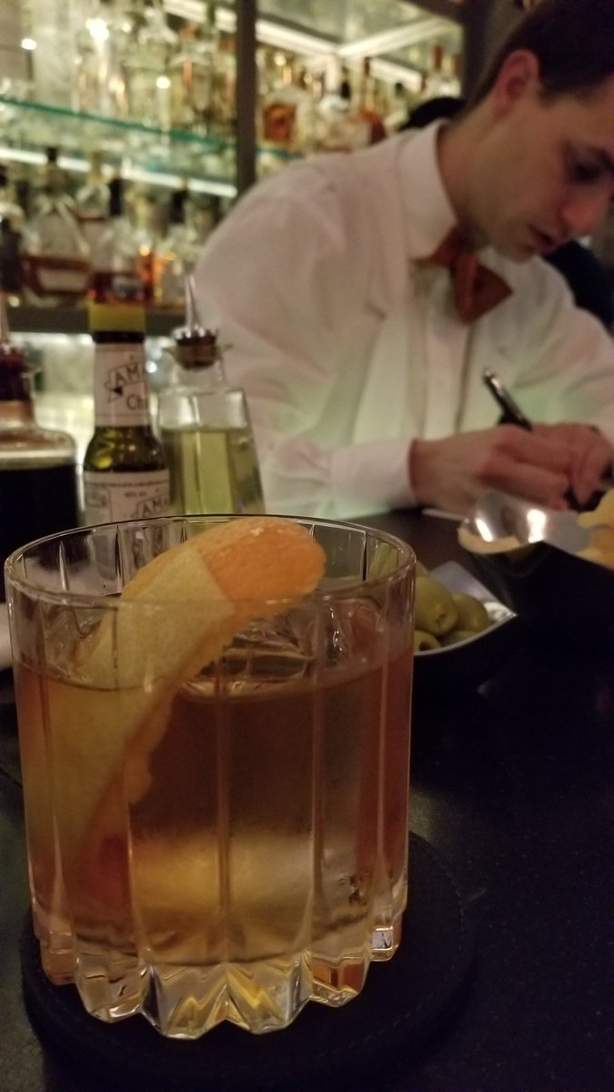 test Twitter Media - Superb Marlene Dietrich cocktail at the Coburg Bar at @theConnaught Hotel (much better than the Connaught Bar itself). Our bartender Clément asked if we knew this great bar in NYC called @amoryamargo. Heh. https://t.co/eZw8ajDjg9