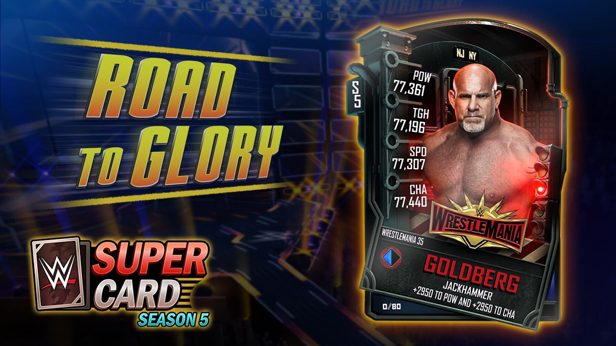 test Twitter Media - This week's event is a Road to Glory featuring Goldberg. https://t.co/DoVbHCuwqp