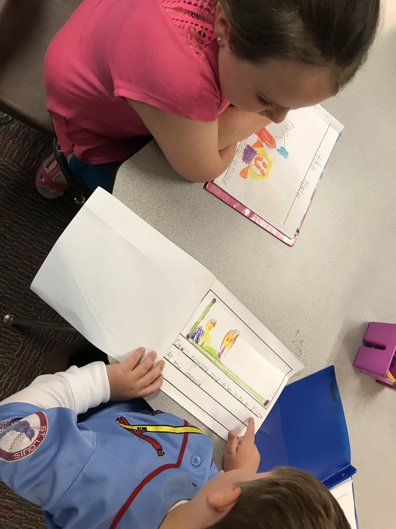 So proud of these writers as they work on and share their personal narratives! @KinderTeacherB https://t.co/xxHPW99SaM