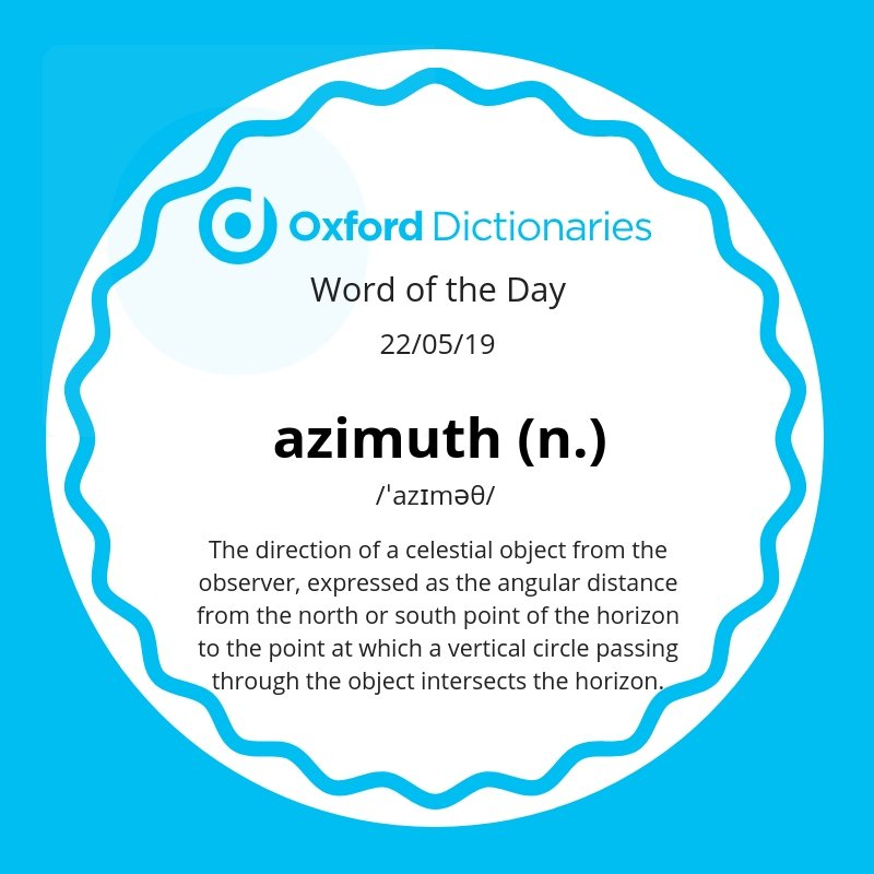 test Twitter Media - Word of the Day: azimuth https://t.co/L5ypbSBXMN https://t.co/FoFZ0bMJoP