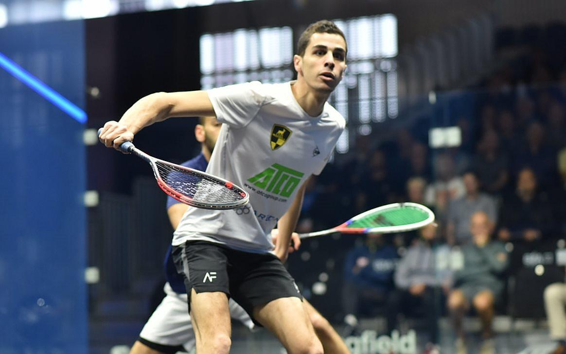 Easing through to the quarters, it's @AliFarag in three ...  [1] Ali Farag (Egy) 3-0 Marwan ElShorbagy (Egy)  11-8, 11-1, 11-2 (31m) https://t.co/pd6DSWvl7D