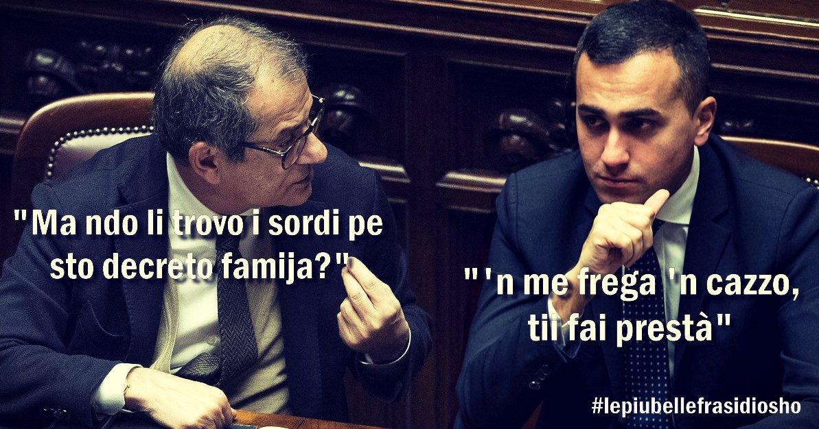 """#decretofamiglia, #Tria: """"Mancano le coperture"""" https://t.co/LC798e804V"""