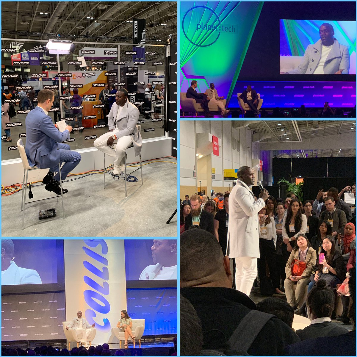 Getting ready for another amazing day at @CollisionHQ in Toronto #Akoin #technology #Africa https://t.co/kLP5tb8ysk