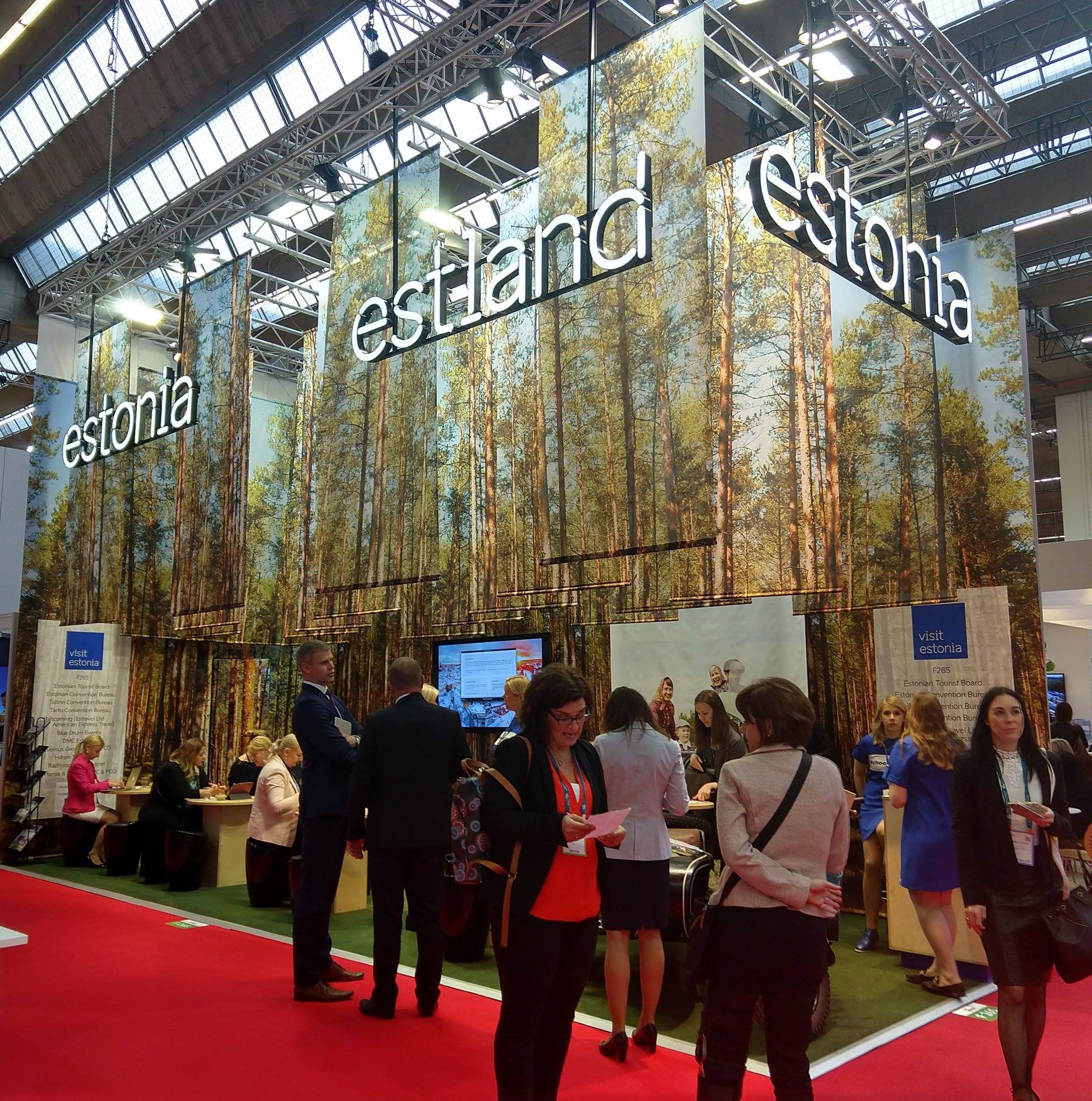 #Tallinn Convention Bureau is at #IMEX this week, come and meet us at stand F265! Team #Estonia also took part in #IMEXrun #visittallinn https://t.co/sQvfFwkp9C
