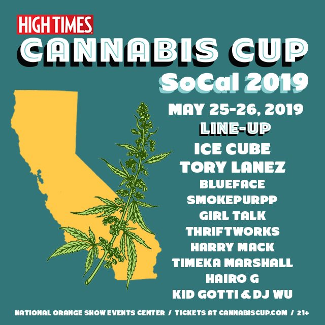 Hitting the Cannabis Cup in SoCal over Memorial Day Weekend. Tickets at: https://t.co/MUaGMmQipQ https://t.co/gIZqmBXzQQ