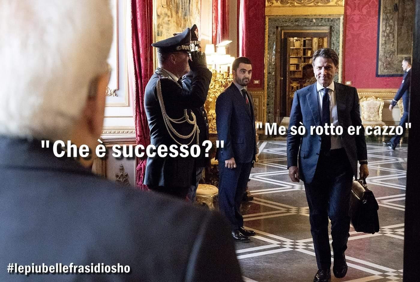 #DecretoSicurezzabis, ancora liti. #Conte sale al #Quirinale https://t.co/7RVa55Nnbq