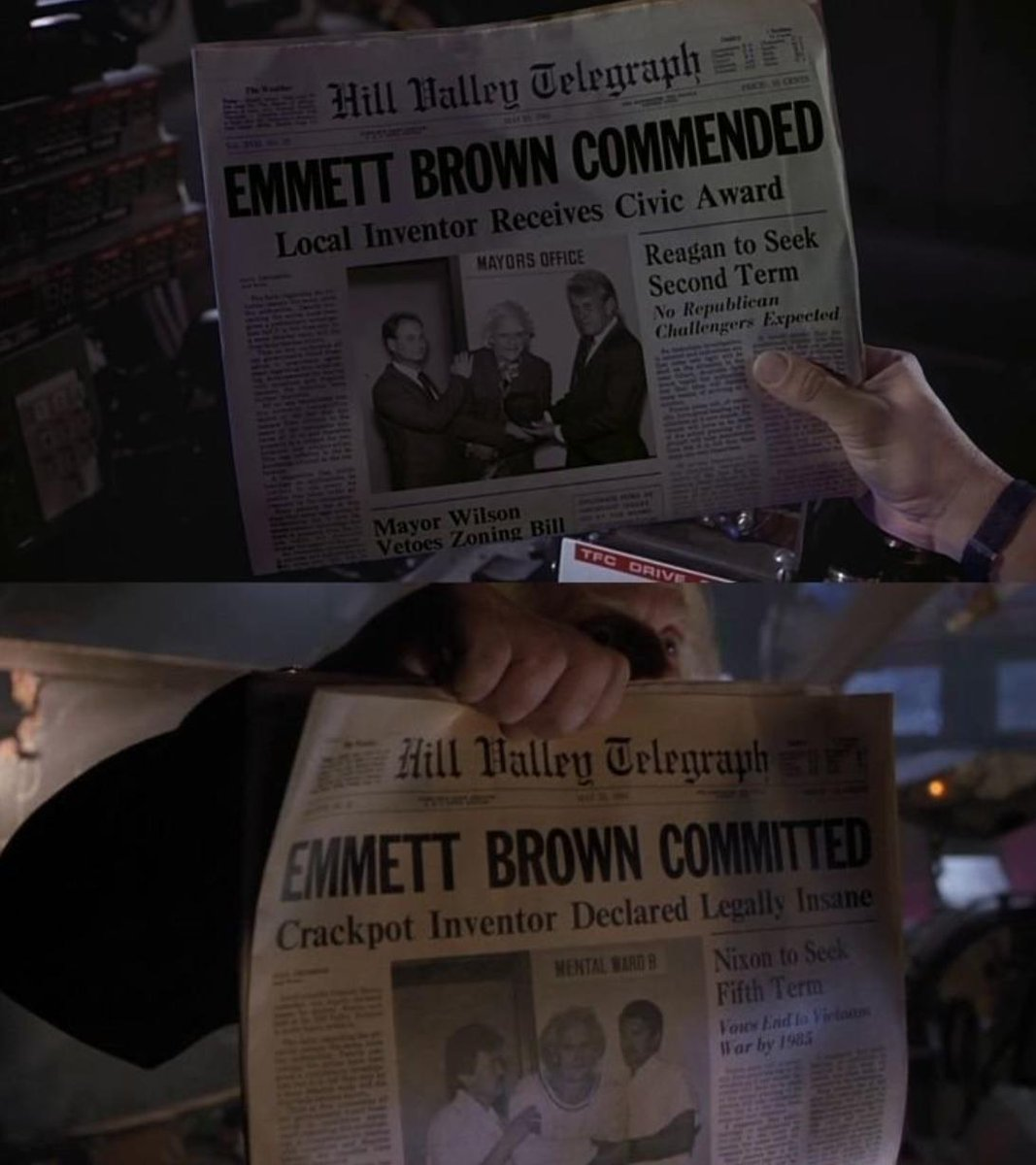 May 22nd. Important day for Doc Brown in 1983. #BackToTheFuture https://t.co/UdcZ1HEQhc