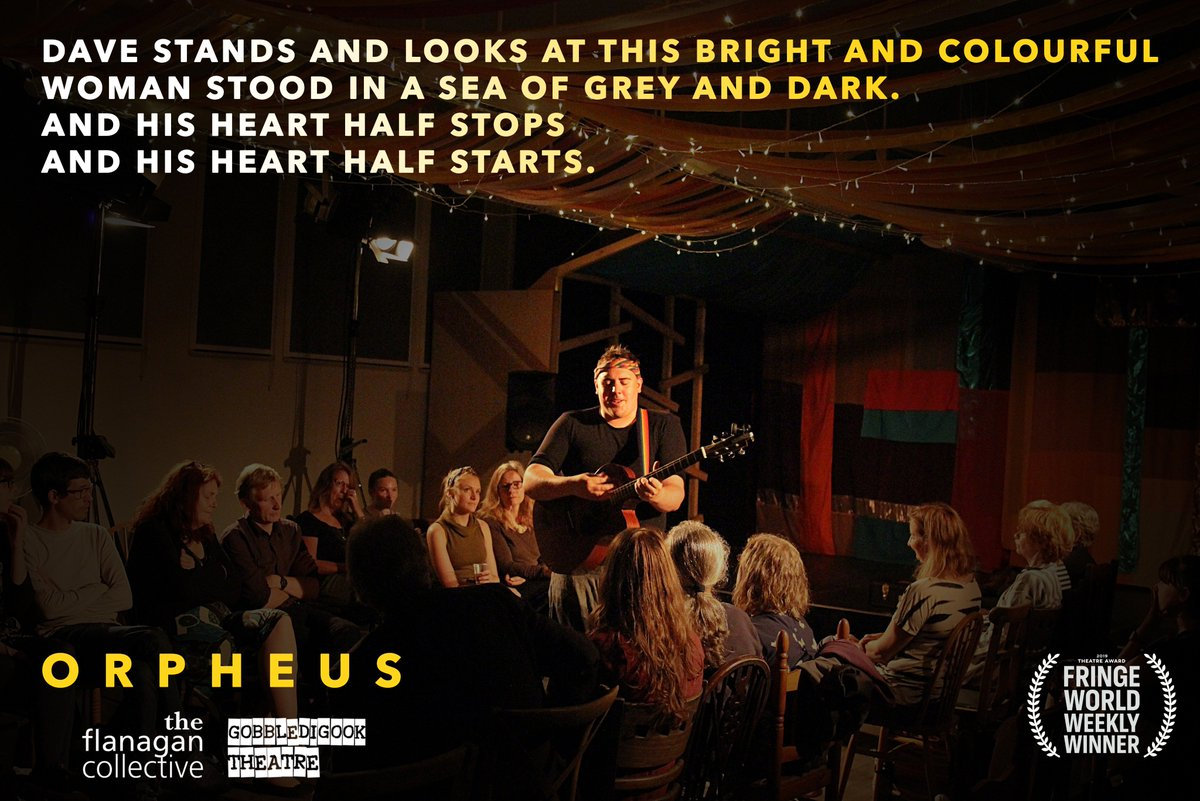 Image for Tomorrow night at 7pm, join us for a night with the award-winning Flanagan Collective who are performing Orpheus. More details here: https://t.co/fqmUD3oxyB #RealMidWales #Event #Storytelling #performance #LiveMusic #Powys #Discover #BleddfaCentre https://t.co/JVcsDYrzXh