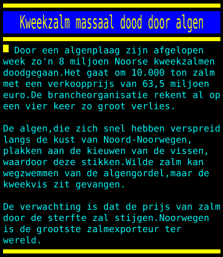 test Twitter Media - Kweekzalm massaal dood door algen https://t.co/MubmfwI96G