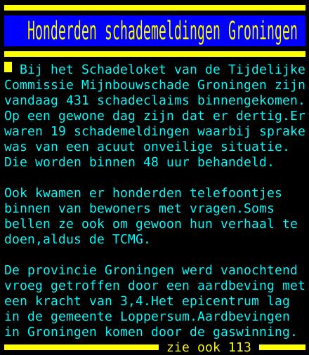 test Twitter Media - Honderden schademeldingen Groningen https://t.co/zKiWjsfFFW