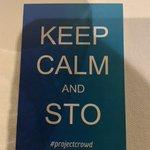 Keep Calm and STO! @_ProjectCrowd https://t.co/SWZ5krYJZu