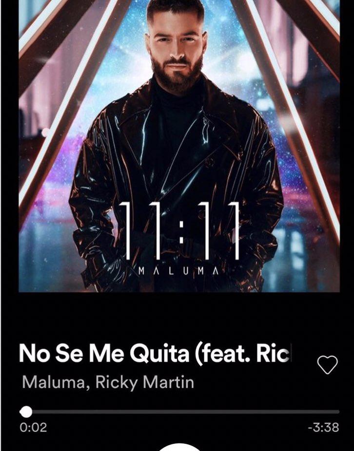 """No se me quita"" @maluma #OutNow https://t.co/aU5wNDe4pJ"