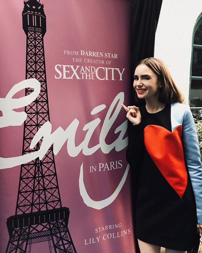 RT @lilycollins: It's all happening... https://t.co/GZvfghizZn