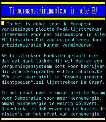 test Twitter Media - Timmermans:minimumloon in hele EU https://t.co/ldzvERcjO1