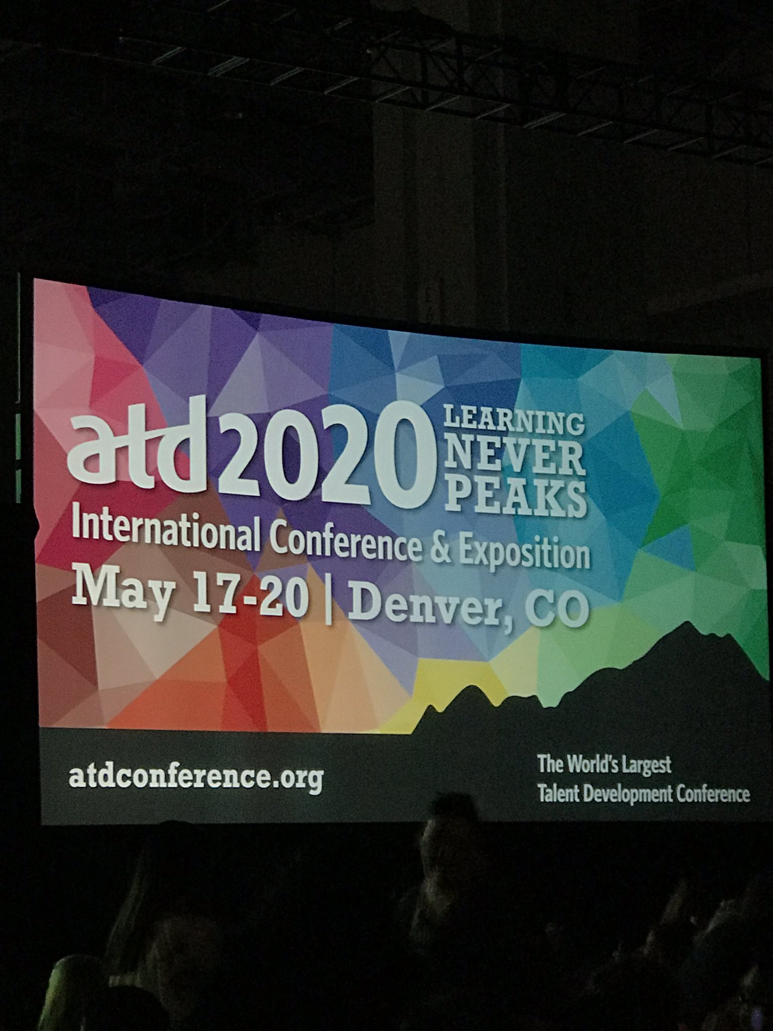 Thank you to all the chapter leaders who attended #ATD2019. We look forward to seeing you in Denver for #ATD2020! #ATDchapters https://t.co/blHo1UOtYS