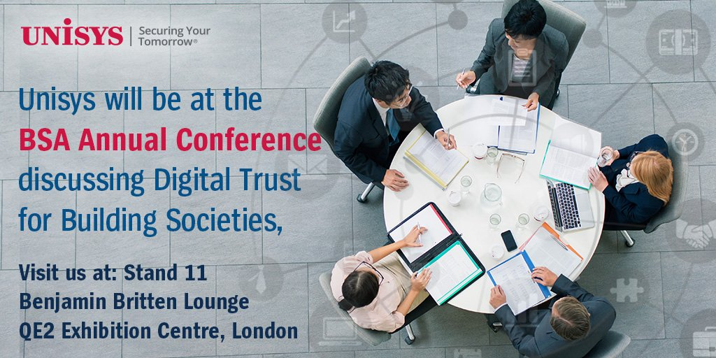 test Twitter Media - Between all the great sessions at the @BSABuildingSocs come and speak to Unisys about #Innovation in the #BuildingSocieties sector #BSA19 (23 & 24 May) https://t.co/nzKXLl1BI4