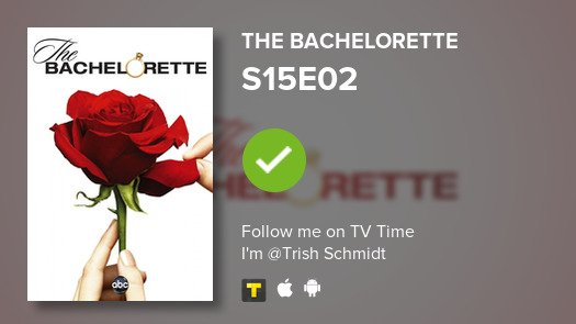 test Twitter Media - I've just watched episode S15E02 of The Bachelorette! #tvtime https://t.co/aNHCE6rlhA https://t.co/qWC6l2206J