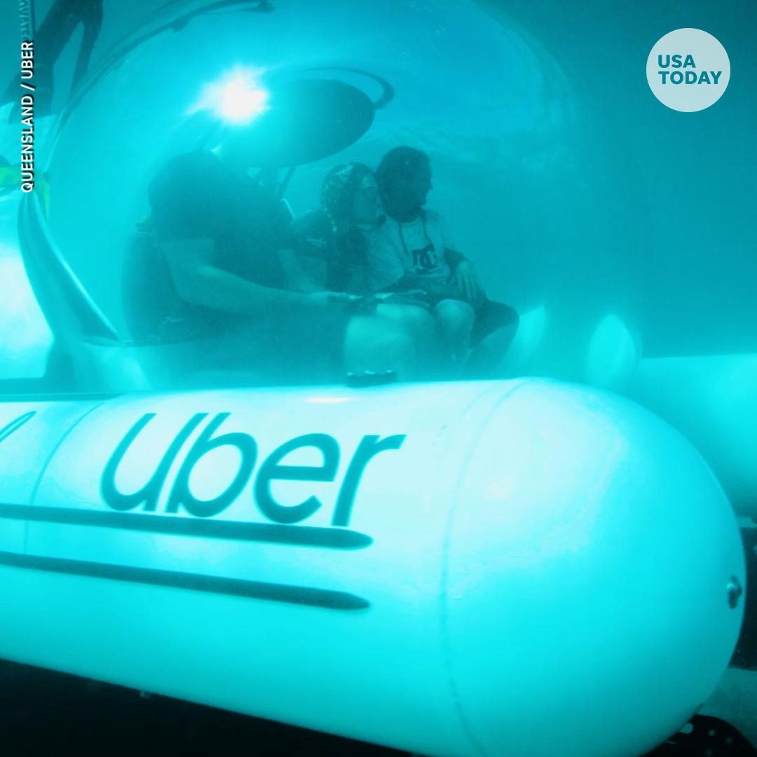 RT @usatodayvideo: Your next Uber could be in a submarine.