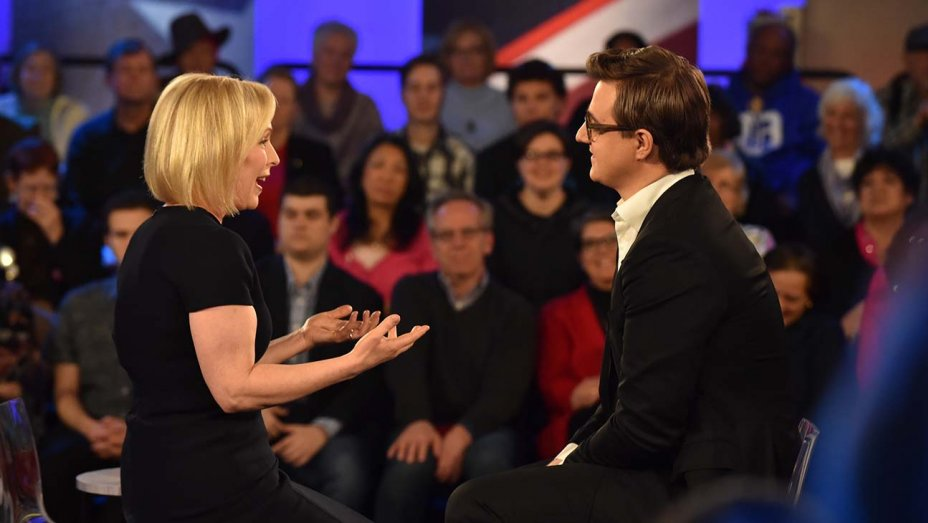 Why MSNBC isn't trying to compete with CNN for most candidate town halls