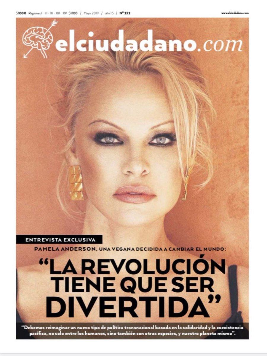 """.@El_Ciudadano """"La Revolucion tiene que ser Divertida"""" #pamelaanderson https://t.co/fsgu1Crxcz"""