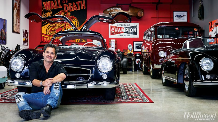 """A CBS creator shows off his rare-car collection — and the auto """"condo"""" where they're stored"""