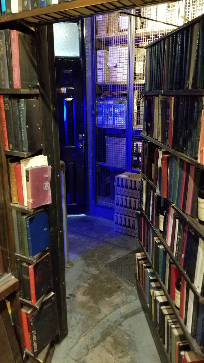 test Twitter Media - When I build my dream house, it will have a secret passage exactly like the one leading to @TheVault_Soho from @Milroys https://t.co/NsT5ZchRqe