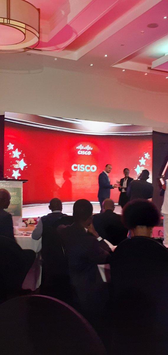 Congrats to @Cisco @MicroStrategy @MetropolTVKE and all winners at the SMB summit. @CrownePlaza #smartsmbsummit https://t.co/IMlIulWgKy