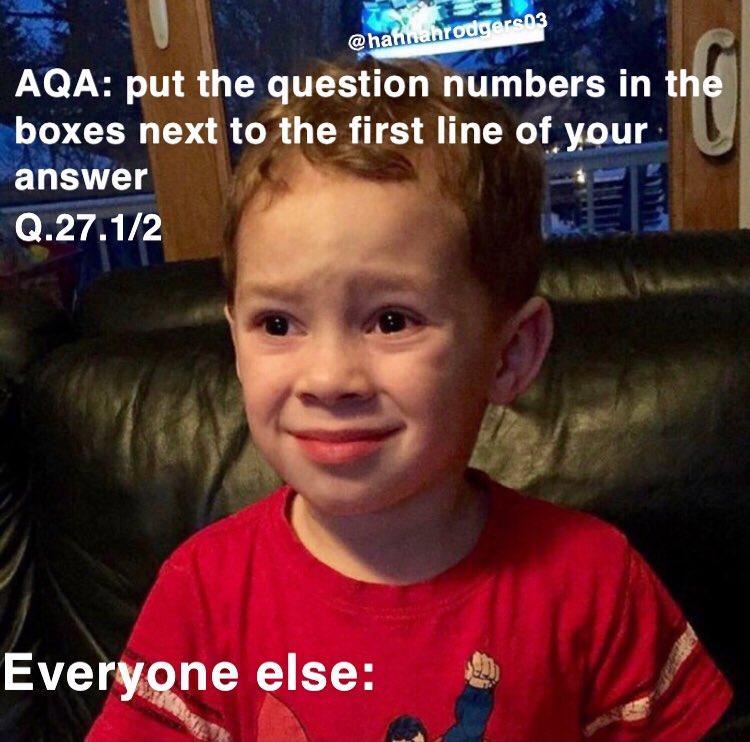 RT @hannahrodgers03: Me today in English lit #GCSEs2019 #aqa #gcseenglishlit https://t.co/r0H34OVugh