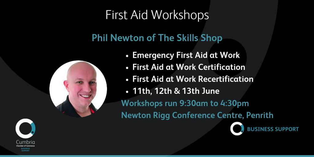 test Twitter Media - Emergency First Aid at Work/First Aid at Work Certification/Recertification with Skills Shop at Newton Rigg Conference Centre, Penrith on 11th, 12th, 13th June. More details, specific dates and booking at https://t.co/Gwo7598KuU @theskillsshop https://t.co/27VnYOMFCS