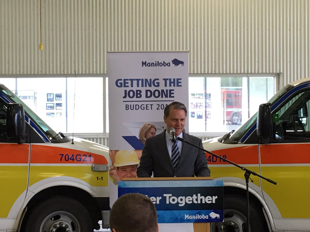 test Twitter Media - Happy to be back in the Westman region this morning as @Brian_Pallister announces 10 new full-time paramedic positions in the Prairie Mountain Health region. These new hires will improve patient care and outcomes for people in the Westman and Parkland regions. #mbpoli https://t.co/1XMg3ZkWFF