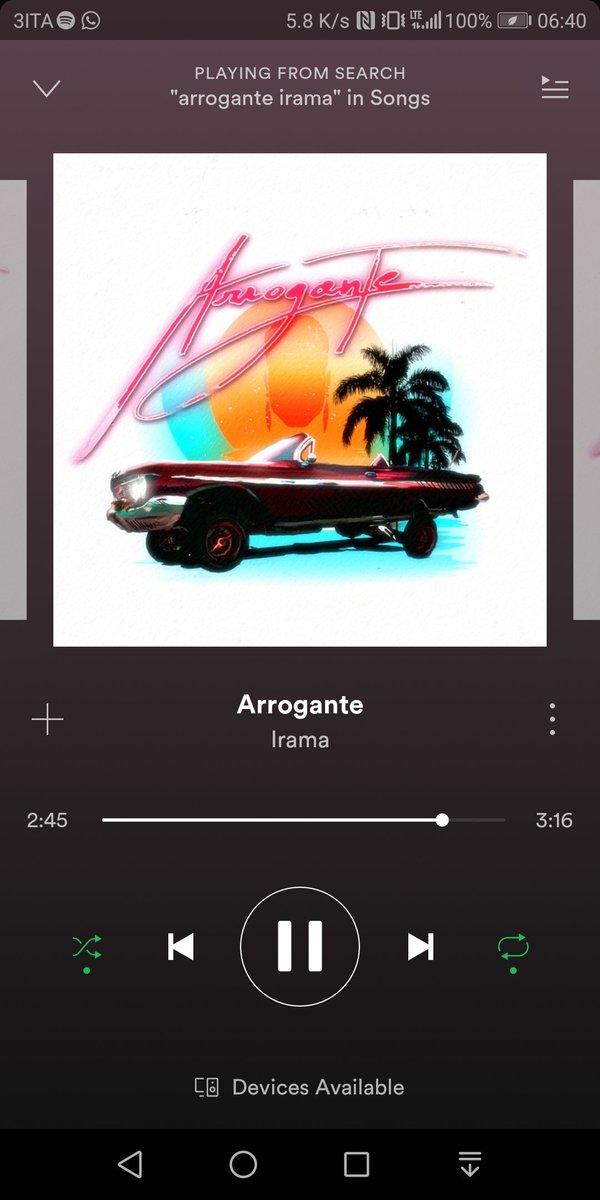 #arrogante