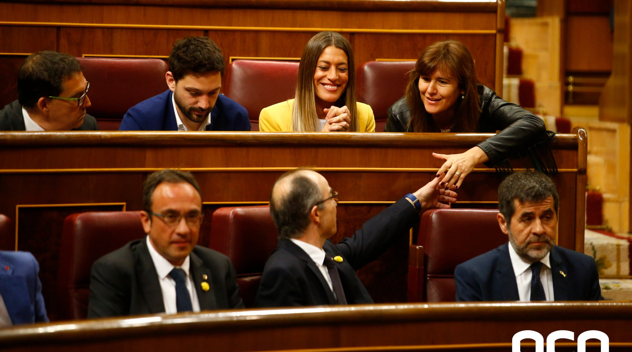 #BREAKING Spanish congress bureau suspends 4 pro-independence jailed leaders as MPs three days after taking up their seats https://t.co/SbBIR4FBee