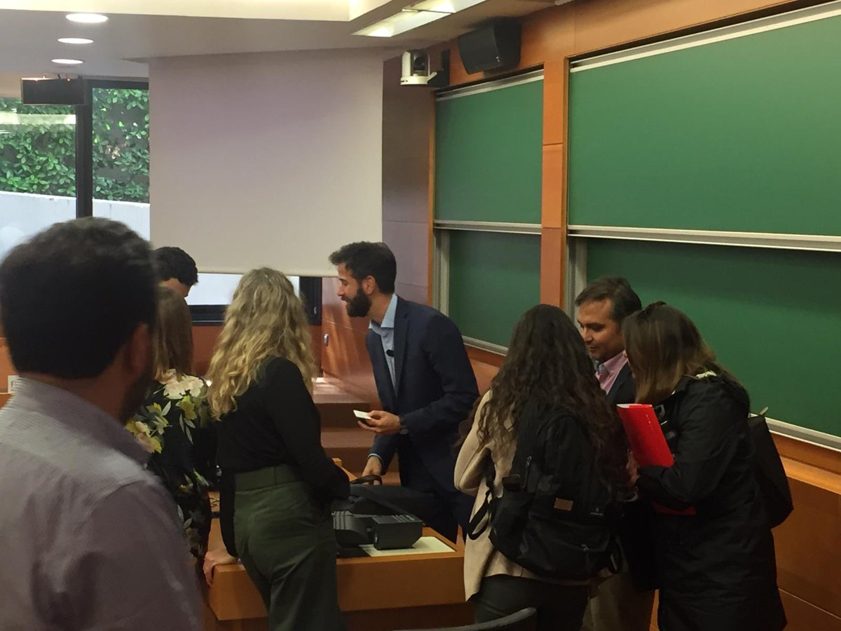 test Twitter Media - Master class at IESE: Artificial Intelligence to make the world a better place. Thanks to @iesebschool @ESEUANDES @MSAdvAnalytics @MSFTCityNext @abd_ong #bigdata #DigitalTransformation #ArtificialIntelligence #AI https://t.co/7o7Exnd8h0