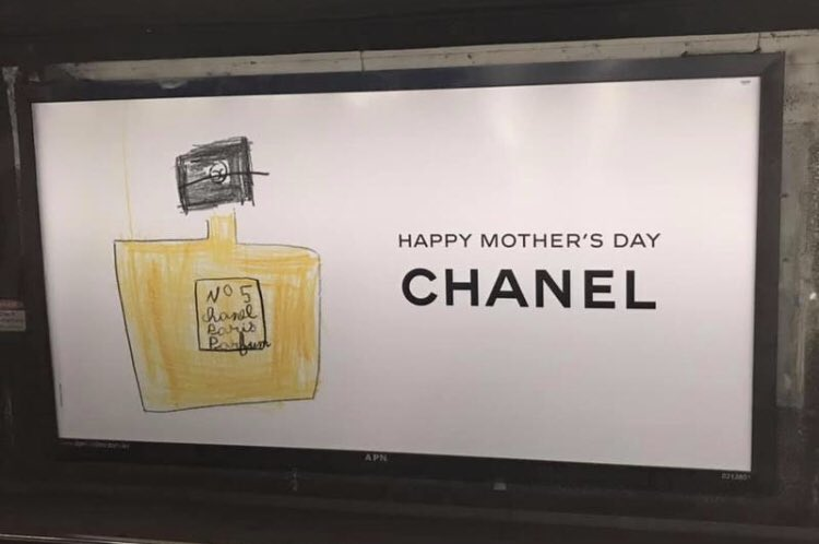 RT @Schwartzie14: Very nice Chanel ads for Mother's Day. https://t.co/lZd4sFdtxL