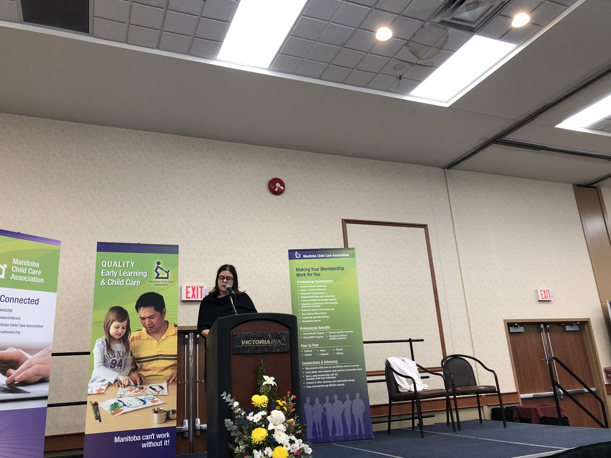 test Twitter Media - It was my pleasure to bring greetings as the @MCCAHOUSE hosts it's 42nd Early Learning and Child Care Conference. It was a wonderful event to attend which was filled with lots of laughter and humour! https://t.co/rtPqasvI1m