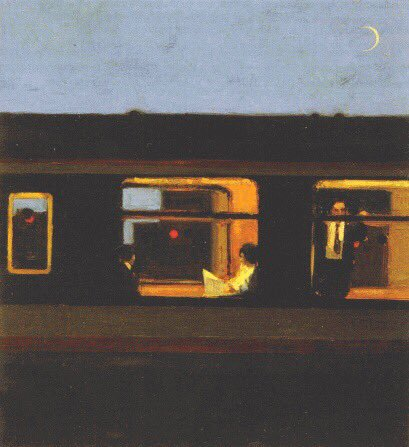 The Train  Artwork by Ben McLaughlin  2001 https://t.co/KiIBnp7RKo