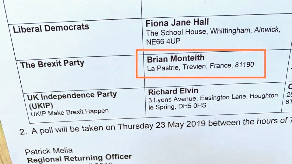 RT @Superfind: The Brexit party are beyond parody.  #indyref2 #brexit #DissolveTheUnion https://t.co/fEIUEW0oZC