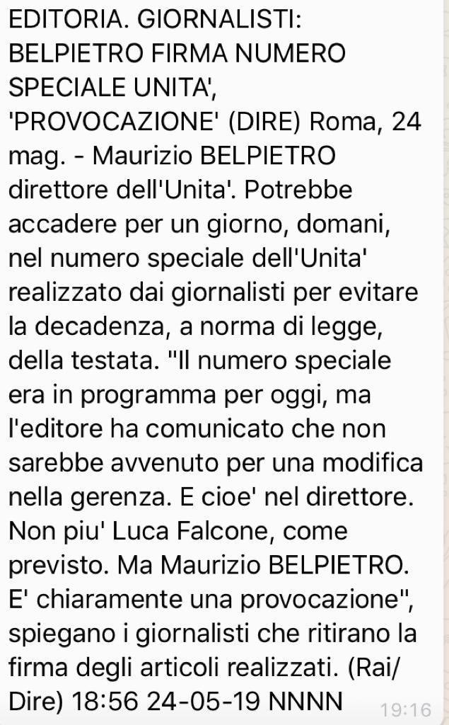 #Belpietro