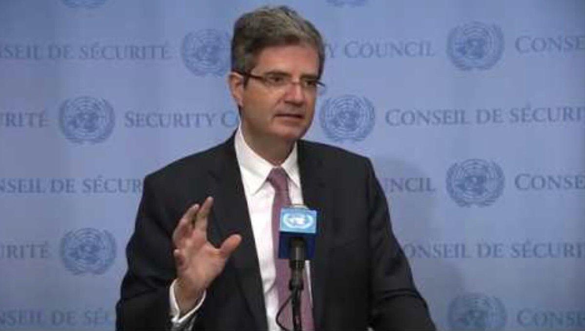test Twitter Media - #Farewell U.N. press corps bids farewell &  toasts a consummate diplomat, France's UN Ambassador François Delattre  ~ on now to the Quai d'Orsay ~ he will be sorely missed @franceonu ~ good fortune for France 🇫🇷 https://t.co/p4b1z2w3tC