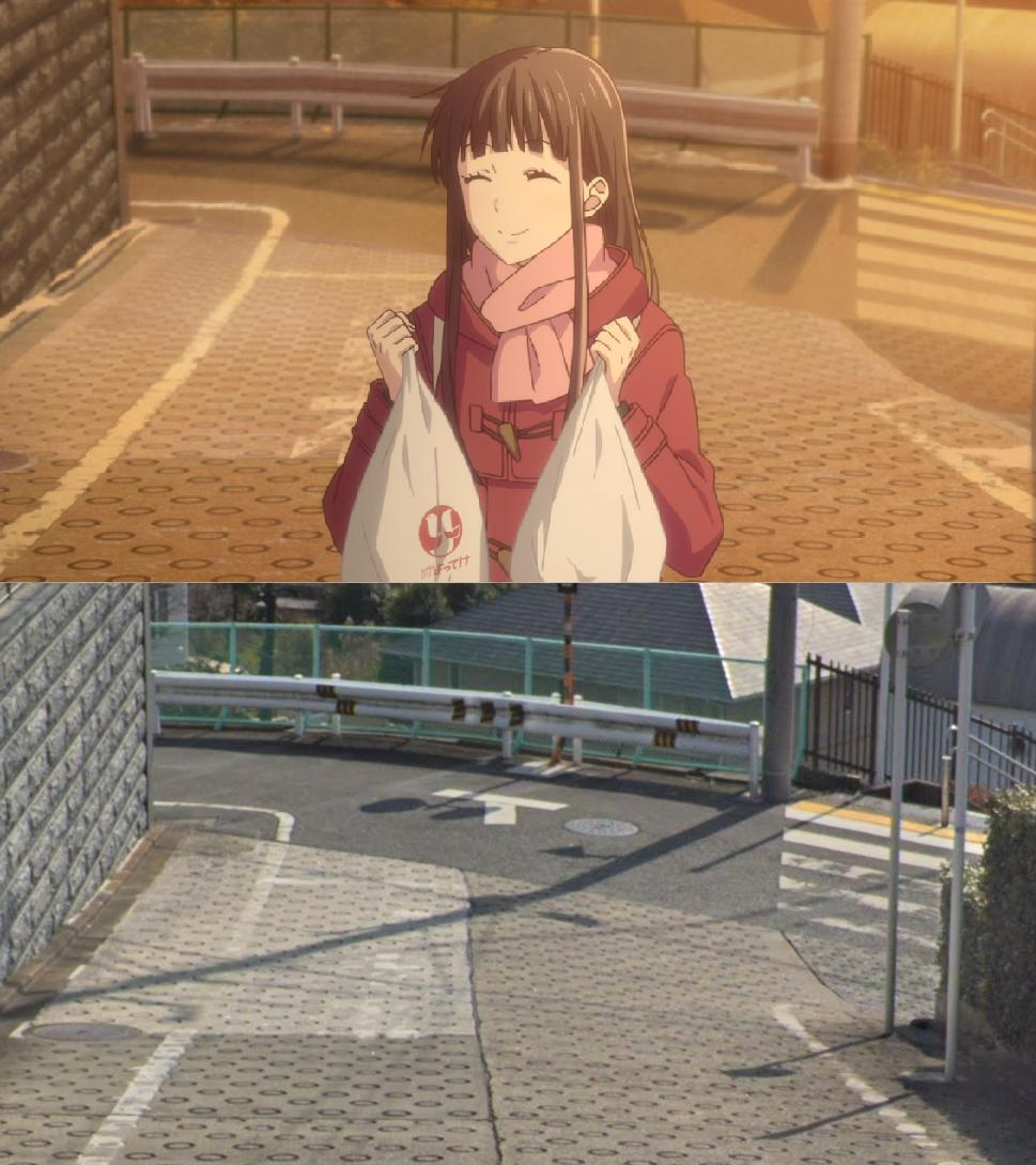 RT @Surwill: The one new real-life spot from today's Fruits Basket :) #フルバ #フルーツバスケット https://t.co/uhiFmFMfza