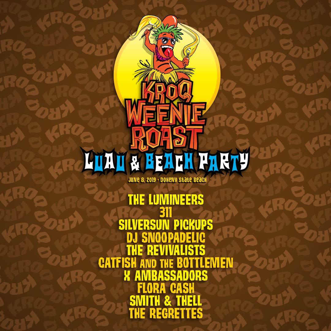 DJ Snoopadelic is hittin the decks June 8 at the @KROQ #WeenieRoast ! Get ur tix here ➡️ https://t.co/EjGdhUhBzL https://t.co/Bn8QH30yg3