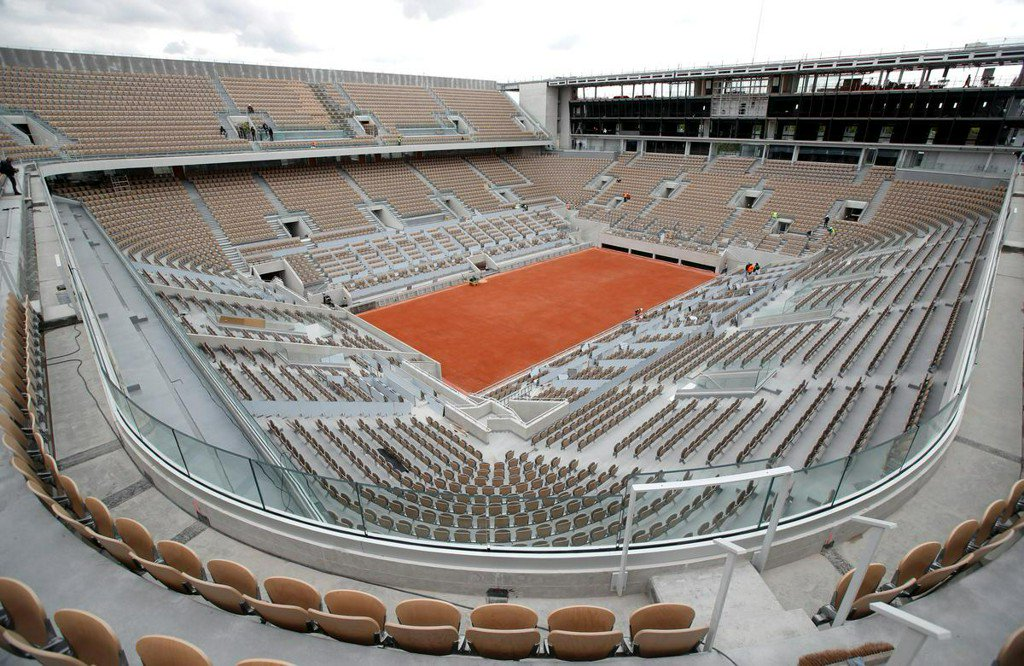 Refurbished Roland Garros ready for players and fans