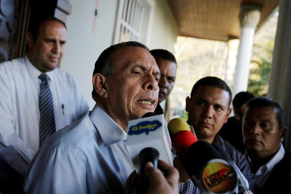 Honduran anti-graft mission investigates ex-president over drug money