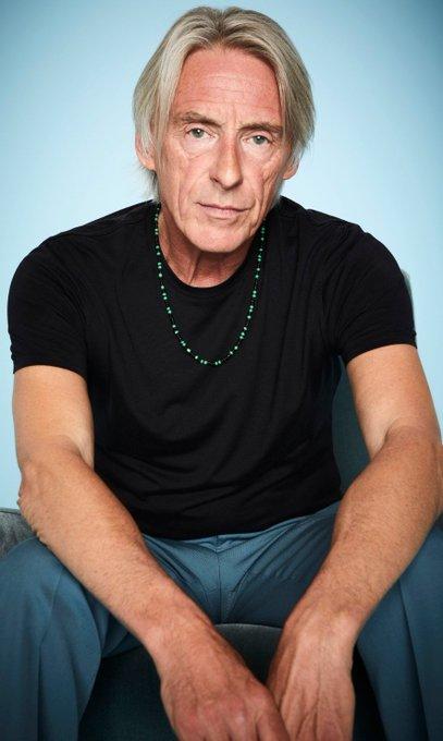 Happy Birthday Paul Weller & raising a glass to xx