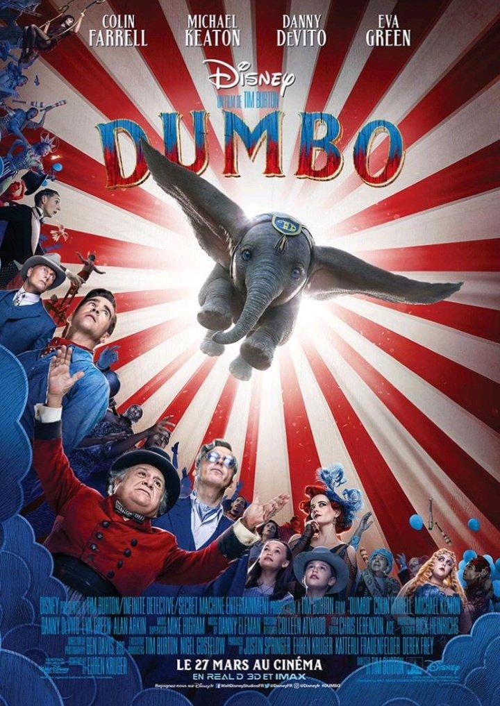 #Dumbo (2019) de Tim Burton. #cinema #UGCchatelet 🎬 #dumbomovie #disney https://t.co/kGAK8YV3bL