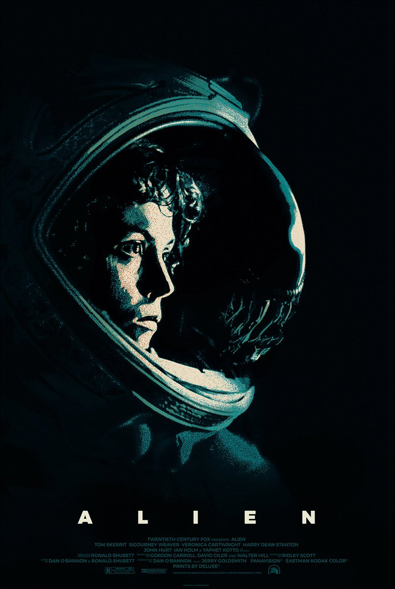 In space no one can hear you scream...  #Alien40th https://t.co/mQ6fO10HBv