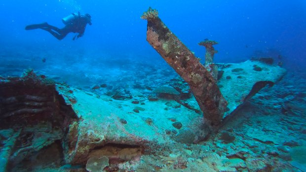 Researcher: Sea wreck must be plane of U.S. pilot missing since 1945