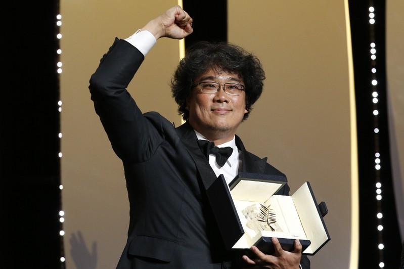 South Korean social satire 'Parasite' wins Palme d'Or at Cannes
